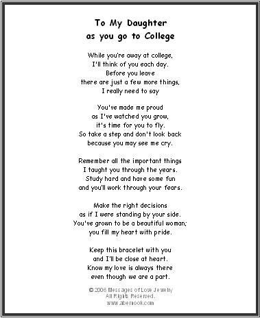 Graduation Poems for Your Daughter | Celebrate your Daughter's birthday, graduation or any special occasion ...