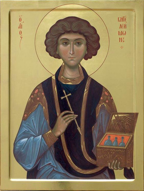 Great Martyr Panteleimon the Healer /