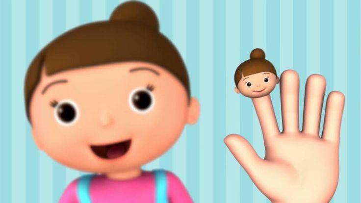 La familia dedo - LittleBabyBum Canciones infantiles HD 3D