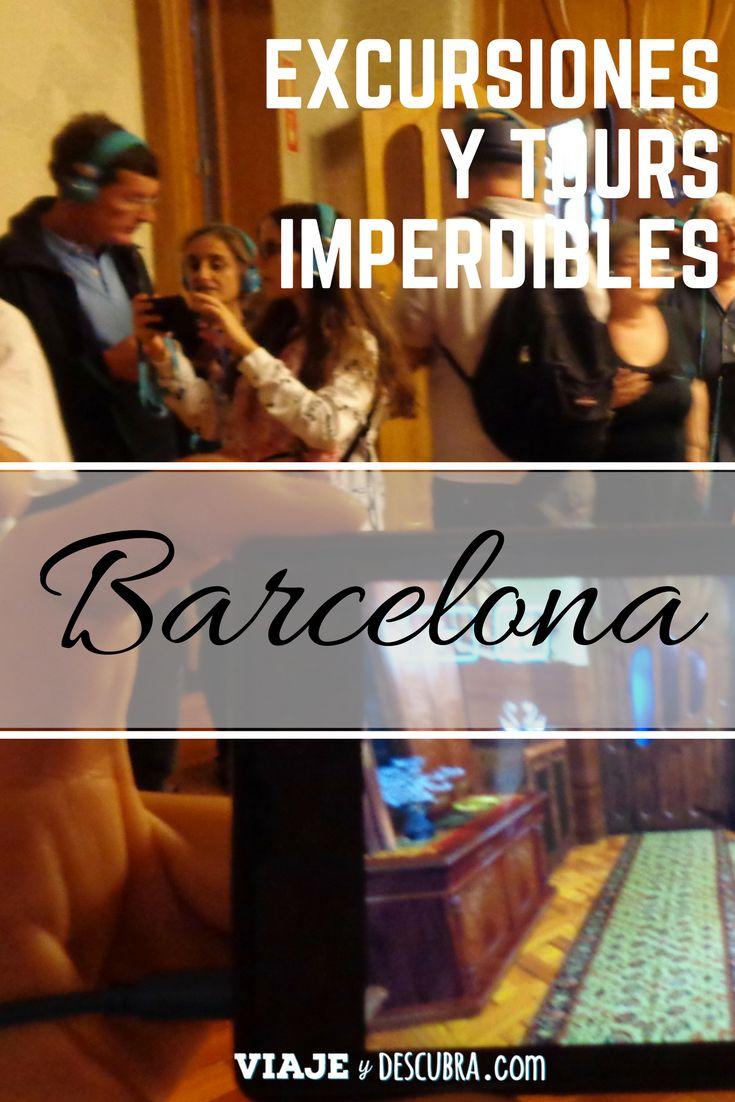 Excursiones y Tours imperdibles en Barcelona. Links para comprar tus tickets online y evitar colas!   https://www.tiqets.com/es/barcelona-c66342?partner=viajeydescubra