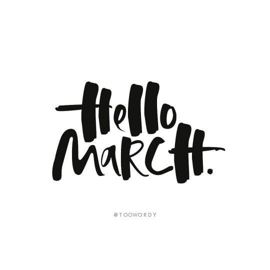 Welcome into March (month of Spring)