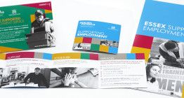 Realise Futures offers employment services, careers advice and training to help people get into employment or back into work.  They've won the contract to supply the Supported Employment Service to Essex County Council and needed some material to promote the service to social workers, employers and service users. We created three marketing tools to promote their service: a desktop tent card, pocket sized brochure and an A4 folder and inserts