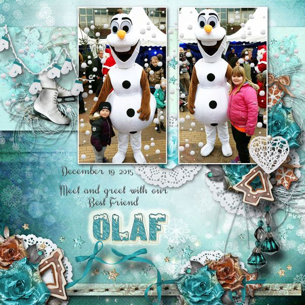 Meet and Greet with Olaf by Janet. Kit: Bright Christmas by Graphic Creations http://scrapbird.com/designers-c-73/d-j-c-73_515/graphic-creations-c-73_515_556/bright-christmas-by-graphic-creations-p-17371.html