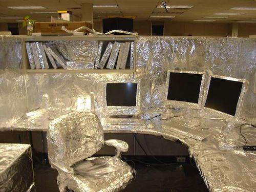 funny cubicle pranks
