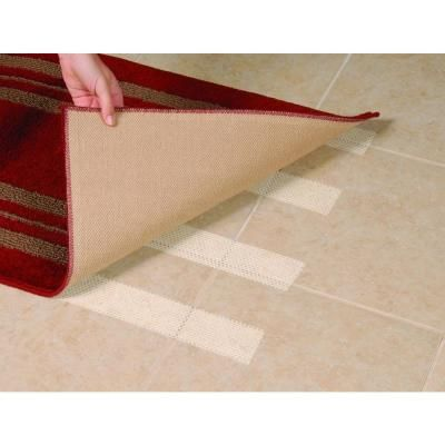 Roberts 2-1/2 in. x 60 ft. Value Roll of Rug Gripper Anti-Slip Tape for Small Indoor Rugs-50-582 - The Home Depot