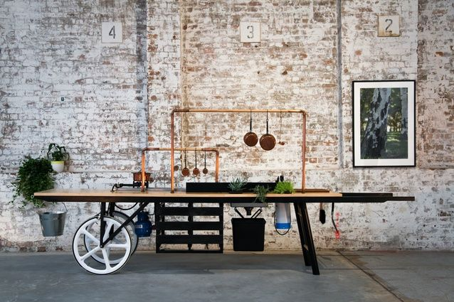 Kitchen By Mike On Wheels  2013 Eat-Drink-Design Awards: Best Temporary Design. How simple and portable can a pop-up restaurant get!? PopUp Republic