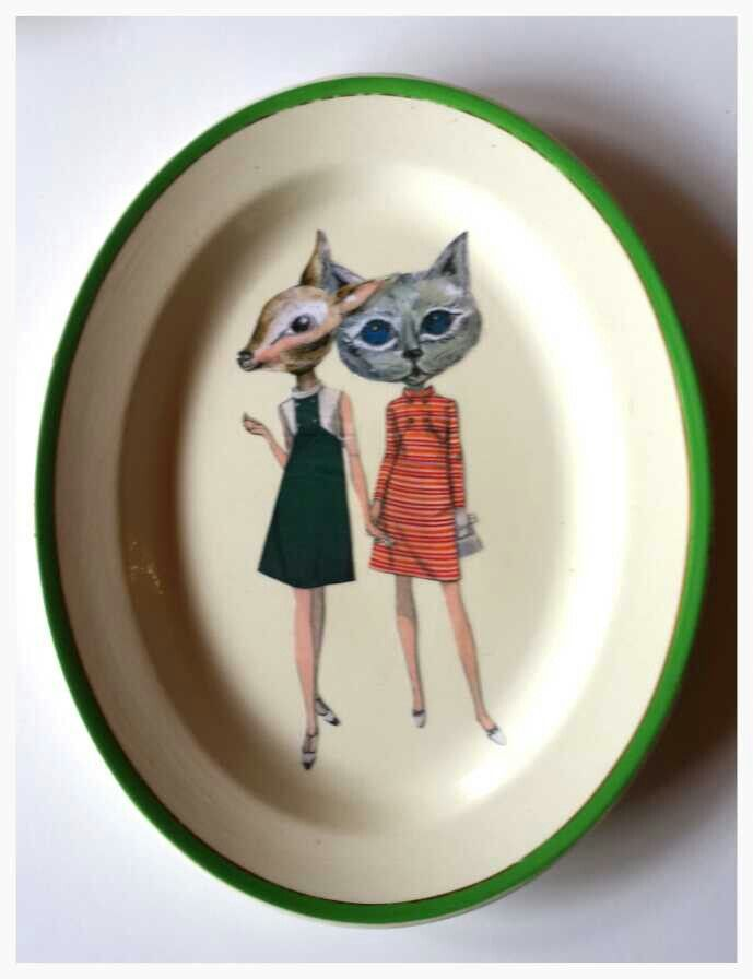 Terry Angelos Art plate