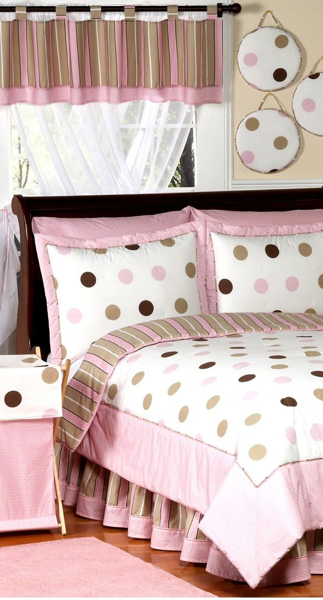 Jojo Mod Dots in Pink #girls bedrooms