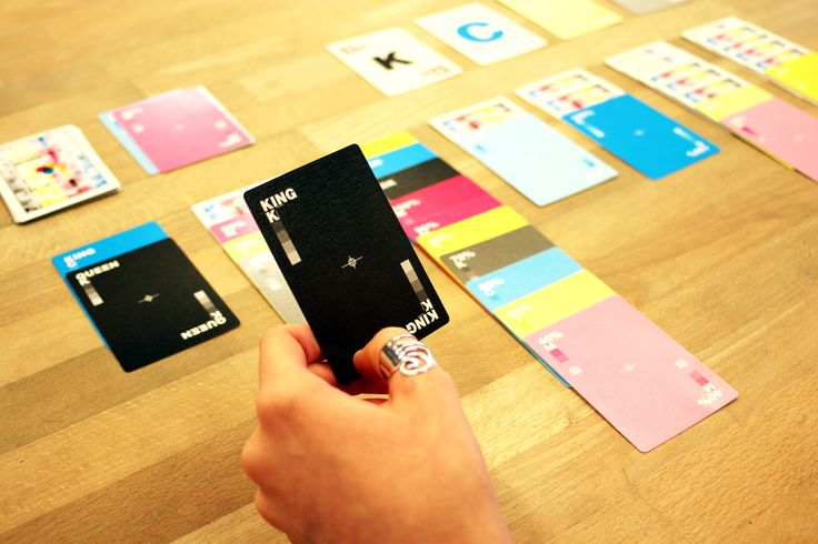 Hundred Million CMYK playing cards