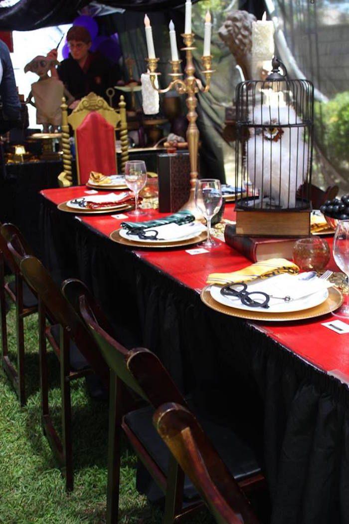 Best 10 Harry Potter Table Ideas On Pinterest