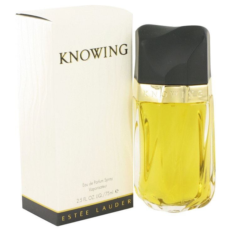 Estee Lauder Knowing Perfume 2.5 oz Eau De Parfum Spray - This feminine scent possesses a blend of rose, mimosa, jasmine, oakmoss, amber and sandalwood and is classified as a refined, woody, mossy fragrance