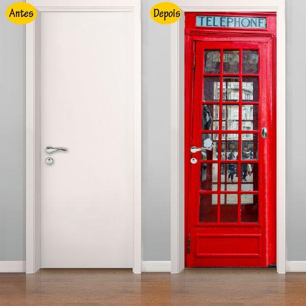 Colou Adesivos - Adesivo decorativo - Cabine telefônica de Londres - adpts03