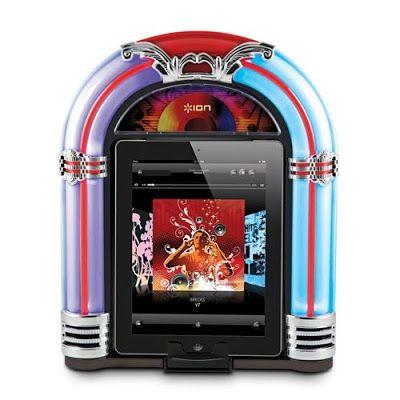 Máquina de discos estilo rockola sinfonola