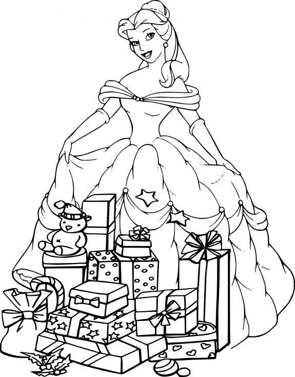 14 Realiste Coloriage Princesse Disney Noel