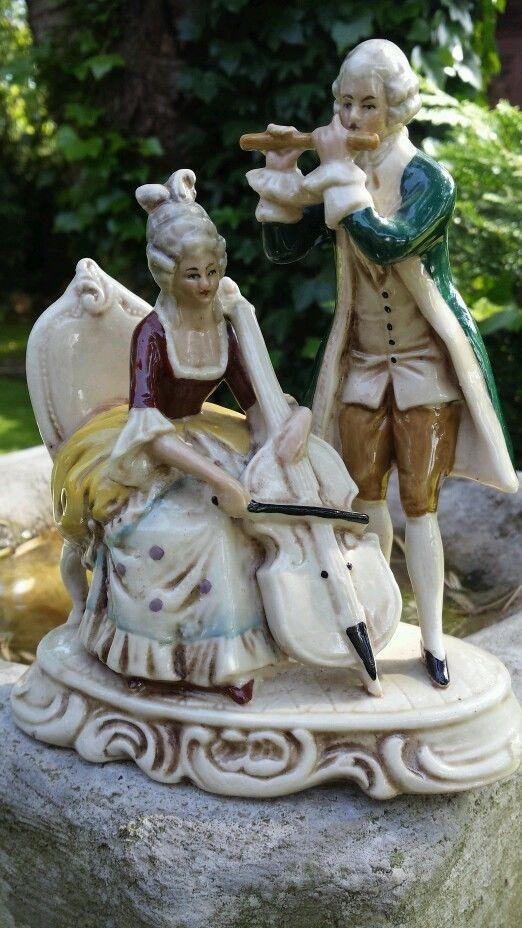57 Best Antique Ceramic Figurines Images On Pinterest