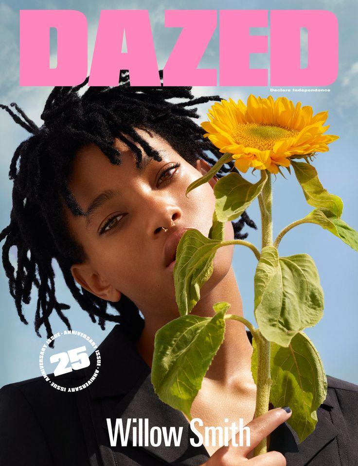 WILLOW SMITH. DAZED ANNIVERSARY ISSUE. Interview Amandla Stenberg. Photography Ben Toms. Fashion Robbie Spencer. #DAZED25
