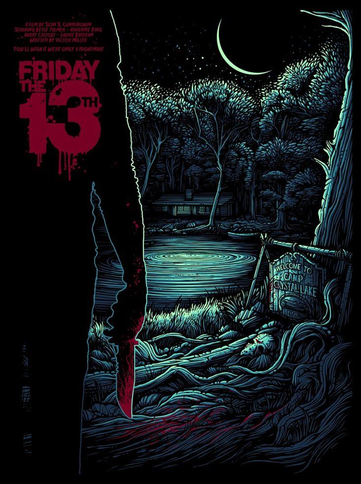 Friday the 13th / Dan Mumford