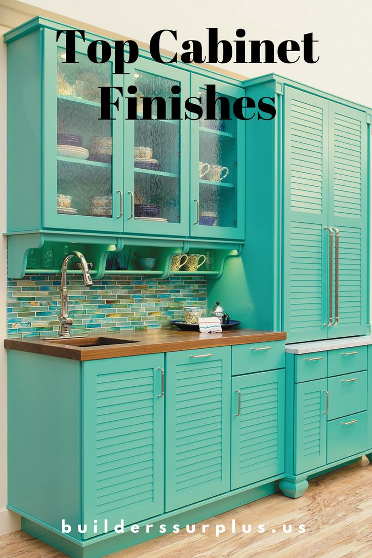 27 best Top Cabinet Finishes images on Pinterest | Beautiful kitchen ...