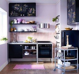 Простая, но стильная кухня