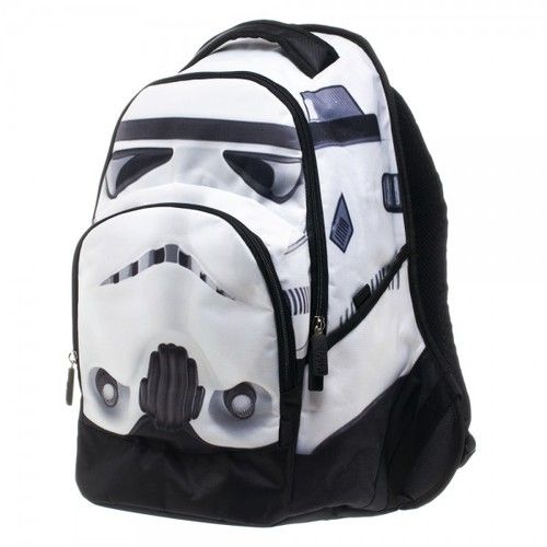 Commemorate your favorite cult classic with an awesome Star Wars White Stormtrooper Backpack . Free shipping on Star Wars orders over $50.