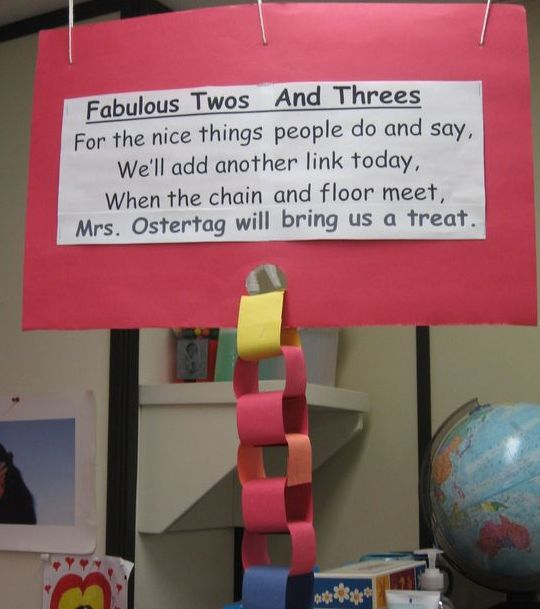 Class reward system idea