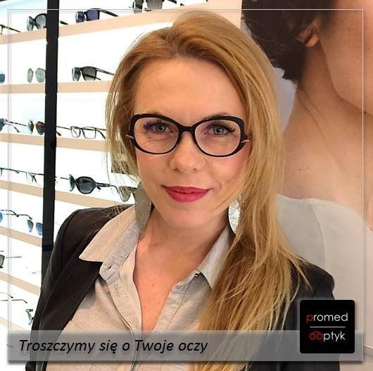Pani Małgorzata. Tu się trzeba zgodzić, że nie wszystko da się opisać słowami :) Serdecznie pozdrawiamy. #optyk #optometrysta #okulista #okulary #wow #eyezen