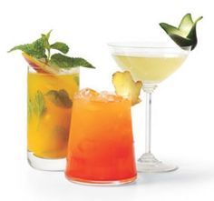 Mix your alcohol, and drink it too!  Moscow Mule, Gin and Tonic, Mojito, Margarita, Bellini, Sangria, Caiprinha, Long Island Iced Tea...