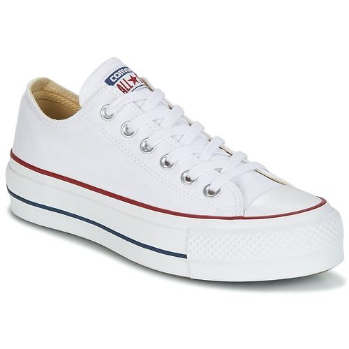 Chuck Taylor All Star Lift Clean Ox Core Canvas | Shoes | Converse ...