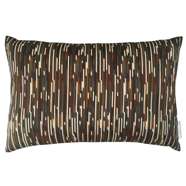 Liberty Cushion Mike Brown & Ochre 50x30