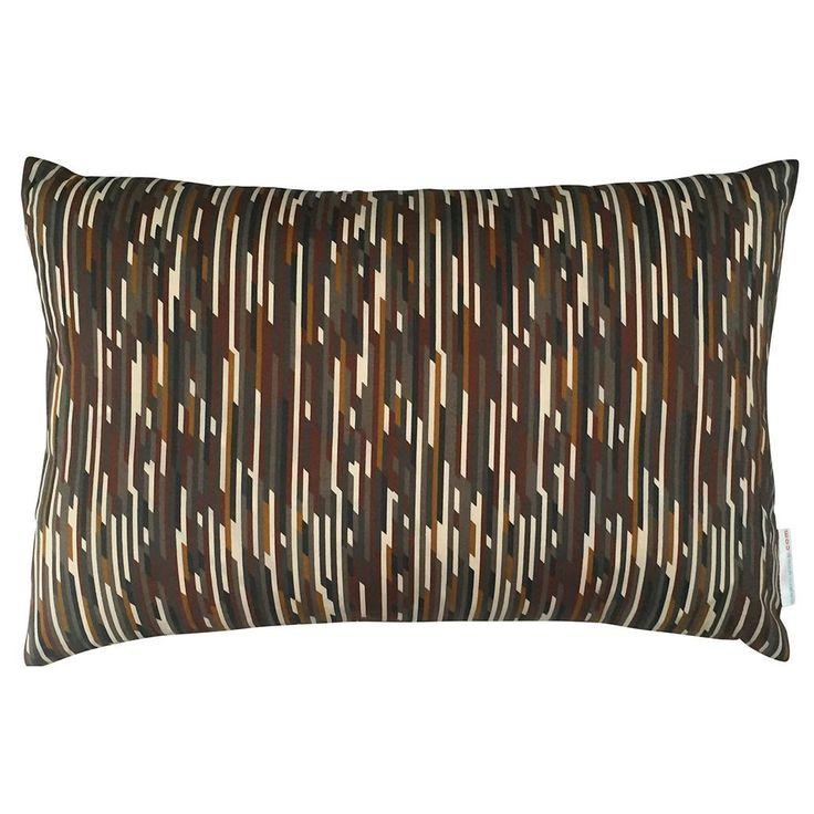 Liberty Cushion Mike Brown & Ochre 50x30