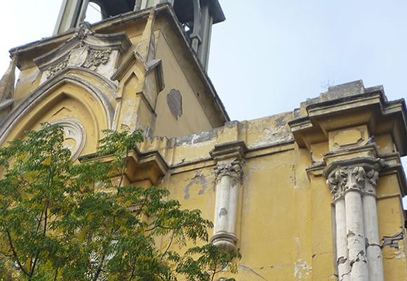 Barrio Patrimonial Yungay | Iglesia San Saturnino