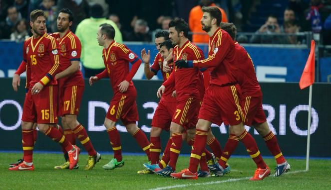 Spanyol team in Piala Dunia