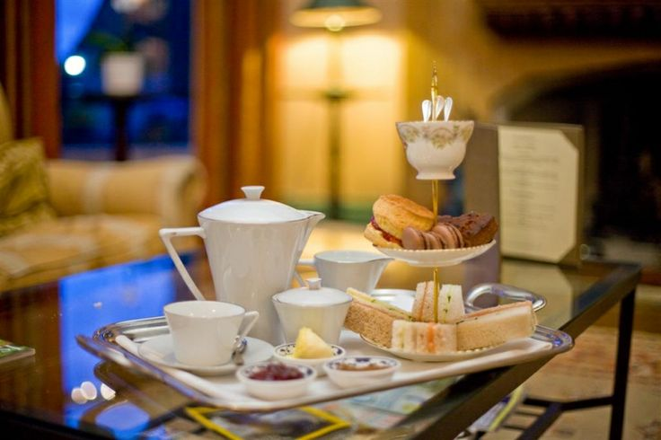 Priory Bay Hotel, Seaview, Isle of Wight. High tea. Yummy.