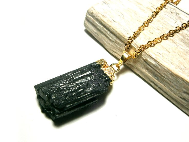 Achat - Kette vergoldet Achat schwarz Halskette Edelstein - ein Designerstück von DeineSchmuckFreundin bei DaWanda