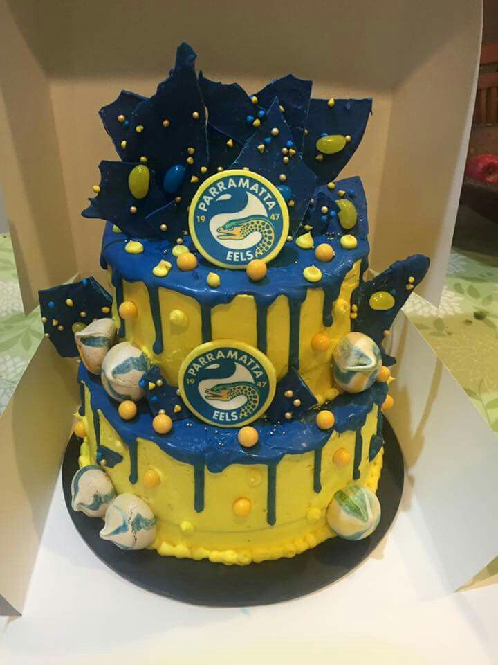 Parramatta Eels Cake Cakespiration In 2019 Cake