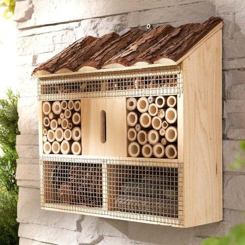 75 best bug hotels images on pinterest bees birdhouses. Black Bedroom Furniture Sets. Home Design Ideas