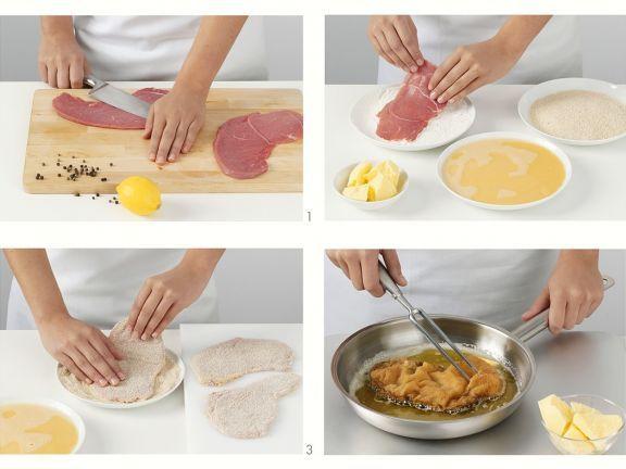 Wiener Schnitzel zubereiten ist ein Rezept mit frischen Zutaten aus der Kategorie Kalb. Probieren Sie dieses und weitere Rezepte von EAT SMARTER!