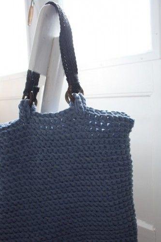 Easy crochet shopping bag