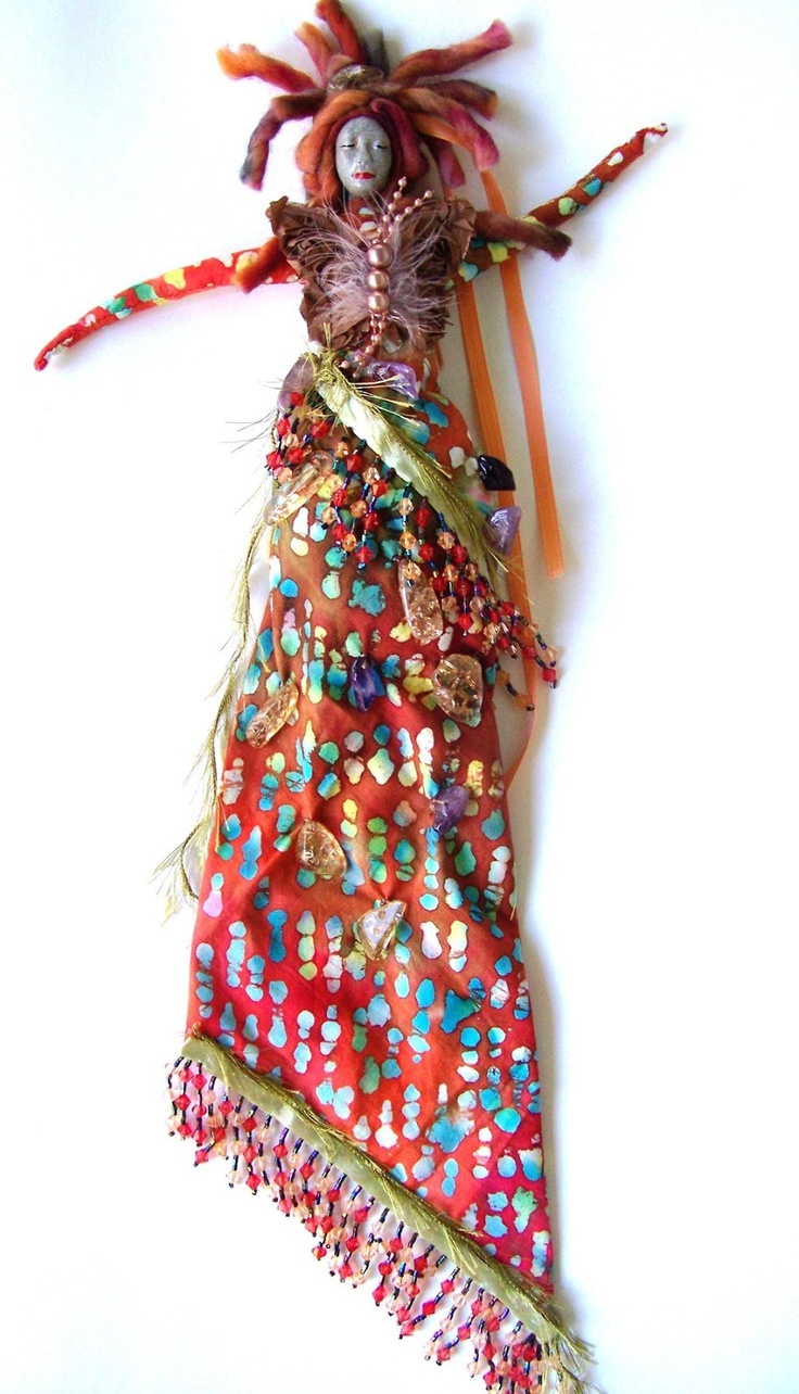 Wisdom Keeper Art Dolls: The Arrival a Women's Empowerment Spirit Doll  Blog Post