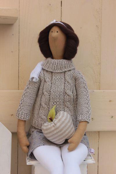 Deko-Objekte - RESERVIERT für Ursula - Stadtmädchen - ein Designerstück von Babajagas-Naehstuebchen bei DaWanda