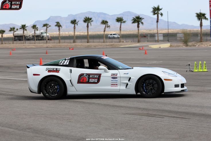 Carrie Willhoff's 2010 #Corvette at #DriveOPTIMA at #LVMS 2017