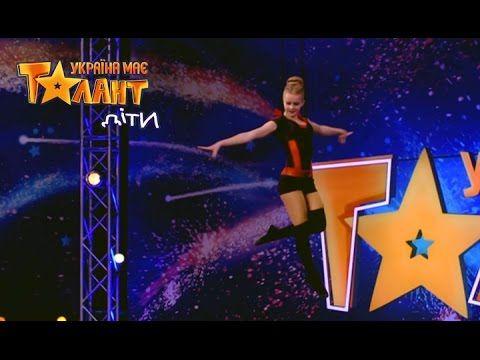 Unreal air gymnastics on Ukraine's Got Talent.