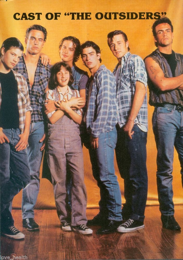 The Outsiders TV series cast (L-R) - Ponyboy (Jay Ferguson ...