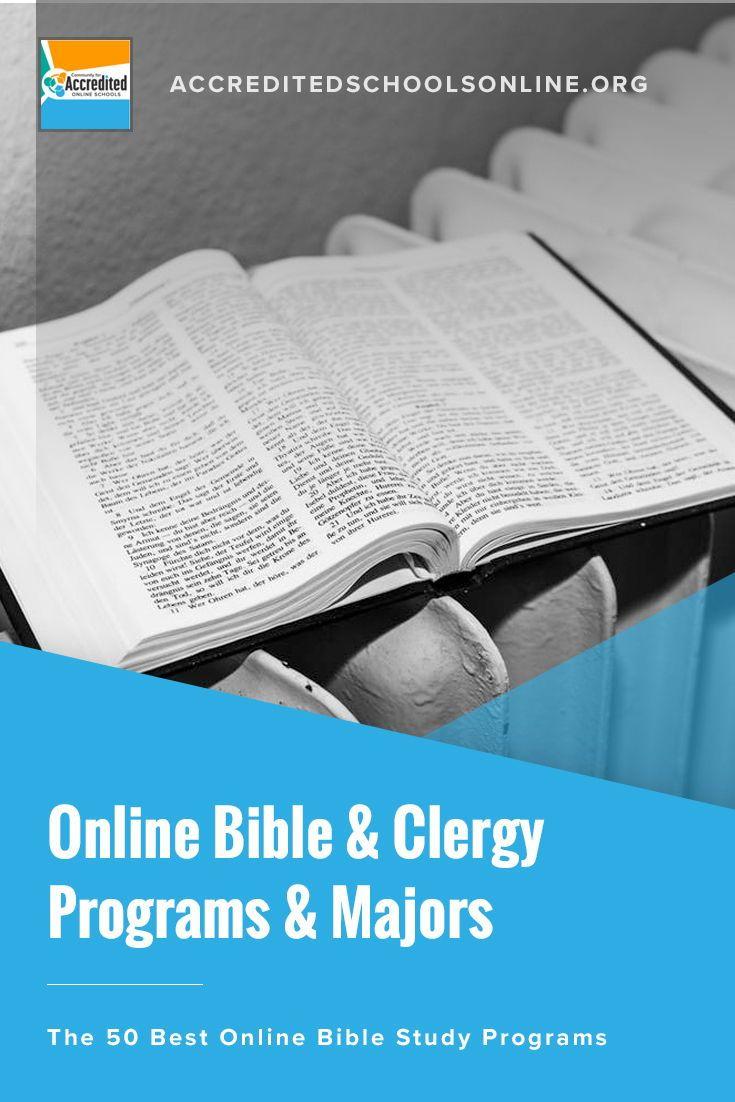 Best Online Bible Schools With Images Online Education Online