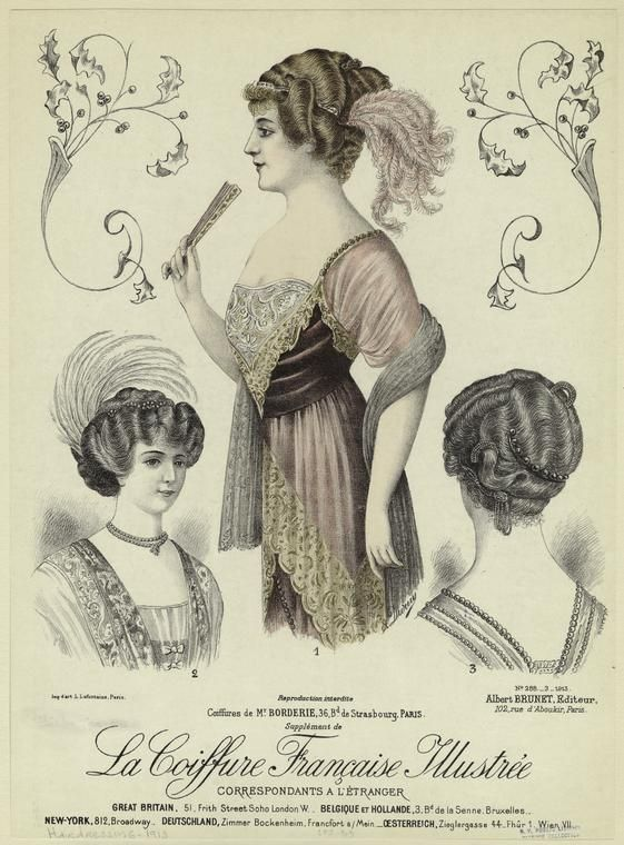 La coiffure française illustrée. (1913)