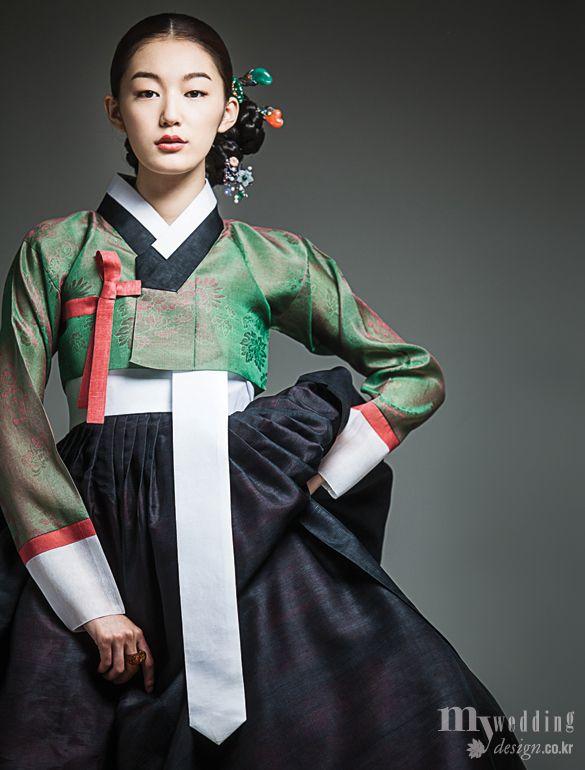 Hanbok, korean traditional clothes / My wedding / 여인女人 / 숙현한복