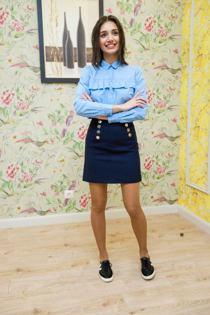 Skolepigekjole | Mini skirts, Fashion, Skirts