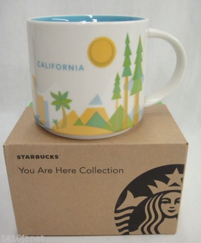 Starbucks-Coffee-Mug-California-You-Are-Here-Collection-2012-NEW-w-Box-14oz