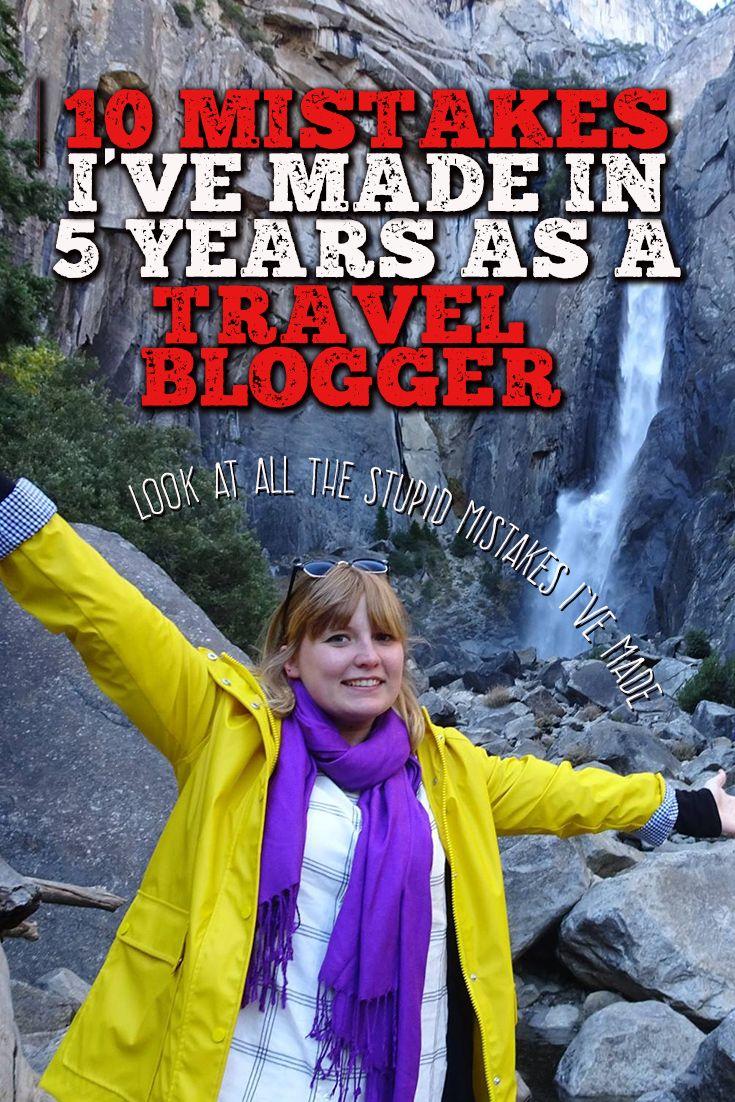 My 10 biggest travel blogging mistakes