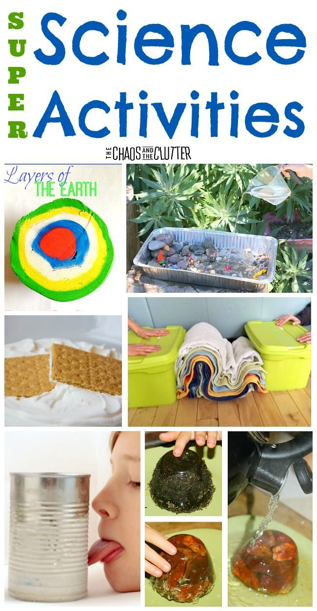 These super science activities for kids can be made with items that are inexpensive and most are items that you probably already have at home.